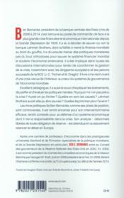 Mémoires de crise - 4ème de couverture - Format classique