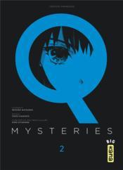 Q mysteries T.2 - Couverture - Format classique