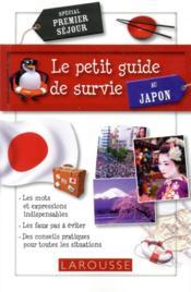 Le petit guide de survie au Japon - Couverture - Format classique