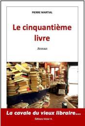 Le cinquantième livre - Couverture - Format classique