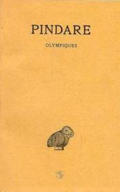 Olympiques oeuvres t.1 - Couverture - Format classique