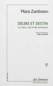 Delire Et Destin - Couverture - Format classique