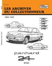 Panhard 24 C-24 Ct-24 B-24 Ba Et 24 Bt (63/67) N 17 - Couverture - Format classique