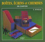 Boites Ecrins Et Chemises - Intérieur - Format classique