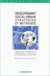 Développement social urbain, stratégies et méthodes - Intérieur - Format classique