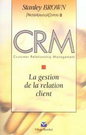 Crm. Gestion De La Relation Clientercial - Intérieur - Format classique