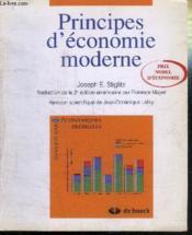 Principes d'economie moderne - Couverture - Format classique