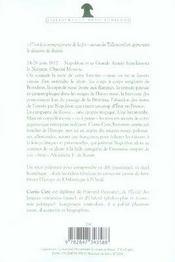 La campagne de russie, 1812 - 4ème de couverture - Format classique