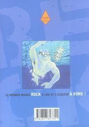 Beck t.6 - 4ème de couverture - Format classique