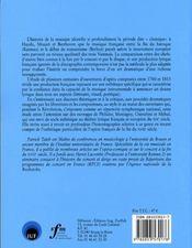 L'ouverture d'opéra en france, de Monsigny à Méhul - 4ème de couverture - Format classique