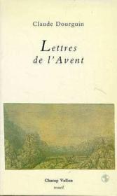 Lettres De L'Avent - Couverture - Format classique