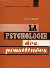 La Psychologie Des Prostituees - Couverture - Format classique