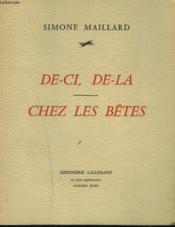 De-Ci, De-La. Chez Les Betes. - Couverture - Format classique