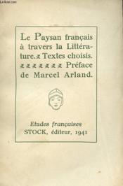 Le Paysan Francais A Travers La Litterature - Couverture - Format classique