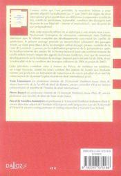 Droit international privé (9e édition) - 4ème de couverture - Format classique