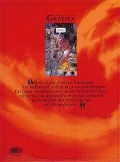 Le lièvre de Mars t.4 - 4ème de couverture - Format classique