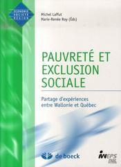 Pauvrete et exclusion sociale - Intérieur - Format classique