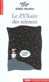 Le Zyxaire Des Sciences - Intérieur - Format classique