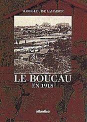 Le Boucau En 1918 - Couverture - Format classique