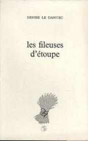 Fileuses D'Etoupes - Couverture - Format classique
