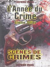 L'Annee Du Crime - Intérieur - Format classique