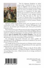 Waterloo ; les lettres anglaises ; les Britanniques racontent Waterloo ; mémoires - 4ème de couverture - Format classique