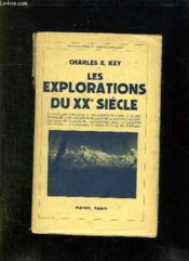 Les Explorations Du Xx Siecle. - Couverture - Format classique
