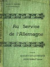 Au Service De L'Allemagne. - Couverture - Format classique