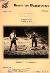Rencontres Wagneriennes, Bulletin N° 104, Oct. 1983 - Couverture - Format classique