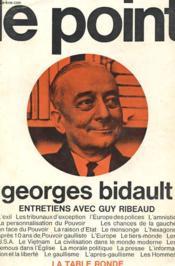 Le Point - Entretiens Avec Guy Ribeaud - Couverture - Format classique