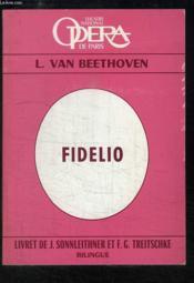 Fidelio. Opéra en 2 actes - Couverture - Format classique