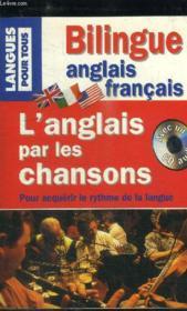 L'Anglais Par Les Chansons (Livre + Cd) - Couverture - Format classique