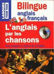 L'Anglais Par Les Chansons (Livre + Cd) - Intérieur - Format classique