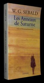 Les anneaux de Saturne - Couverture - Format classique
