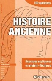 Histoire ancienne - Couverture - Format classique