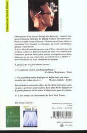 Delirium tremens - 4ème de couverture - Format classique