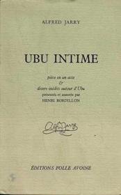 Ubu intime - Couverture - Format classique