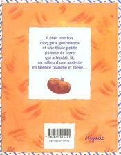 Patate (la) - 4ème de couverture - Format classique