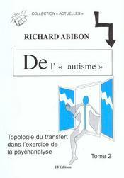 De l'autisme avec les adultes t.2 - Intérieur - Format classique