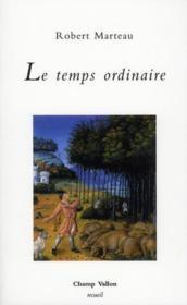 Le Temps Ordinaire - Couverture - Format classique