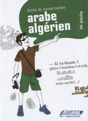 GUIDES DE CONVERSATION ; arabe algérien de poche - Couverture - Format classique