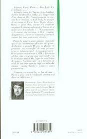 Decale - 4ème de couverture - Format classique