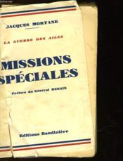 Missions Speciales - Couverture - Format classique