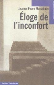 Eloge De L'Inconfort - Intérieur - Format classique