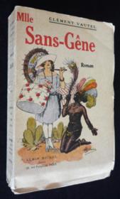 Mademoiselle Sans-Gène - Couverture - Format classique