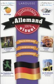 Dictionnaire visuel francais-allemand - Couverture - Format classique