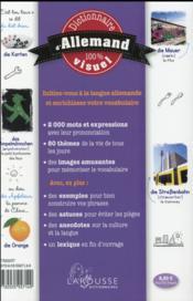 Dictionnaire visuel francais-allemand - 4ème de couverture - Format classique