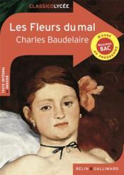 Les fleurs du mal, de Charles Baudelaire - Couverture - Format classique