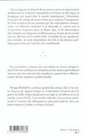 La manipulation a la francaise - 4ème de couverture - Format classique