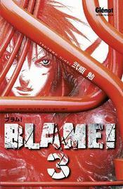Blame - tome 03 - Couverture - Format classique